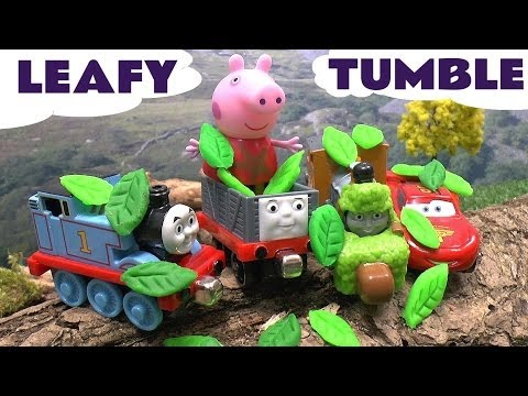 Peppa Pig Play Doh Disney Cars Hello Kitty Thomas and Friends Take N Play Spills and Thrills Bash