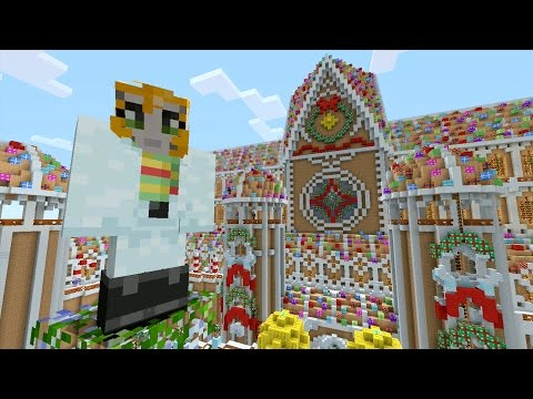 Minecraft Xbox Christmas Wonderland Hunger Games