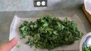 How to Make Salt & Vinegar Kale Chips