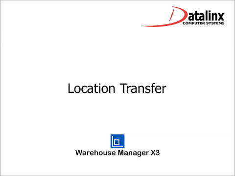 Warehouse Management for Sage ERP X3