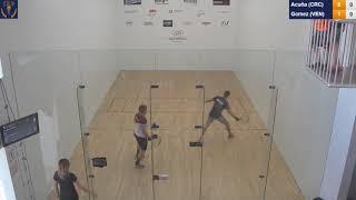 2018 Racquetball World Championships - Men's Round Robin - Acuna CRC vs Gomez VEN