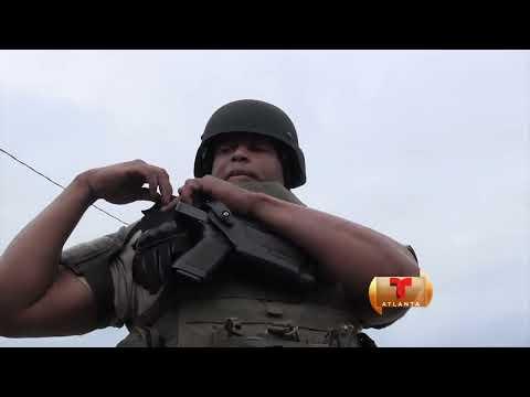 Increíbles imágenes de los equipos de SWAT de la zona norte de metro Atlanta