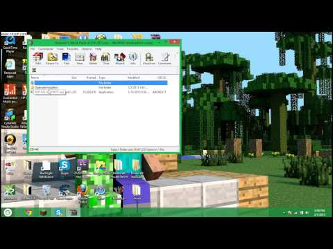 Minecraft Tutorial - How to install and Use Kovacic's Mod Pack