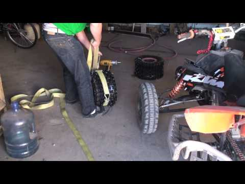 ATV Tire Change