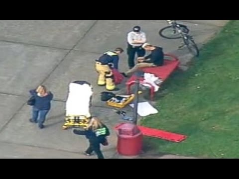 Shooting at Marysville Pilchuck High School — Shooter Jaylen Fryberg in Washington [Raw Footage] HD!