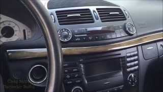 How To Remove Radio Command Unit | CD Changer | Gear Shifter Box | Mercedes E Class W211