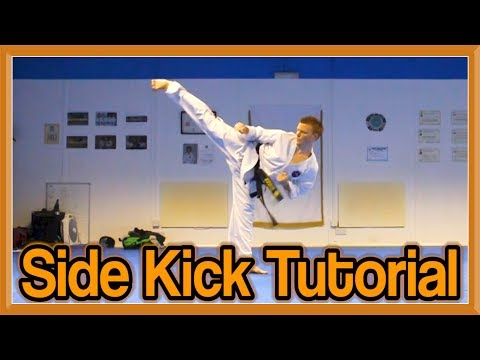 Taekwondo Side Kick Tutorial Image 1
