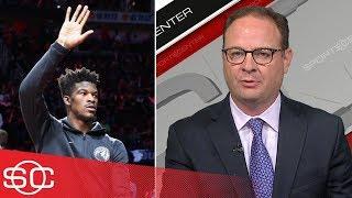 Adrian Wojnarowski on Jimmy Butler's trade request out of Minnesota    SportsCenter   ESPN