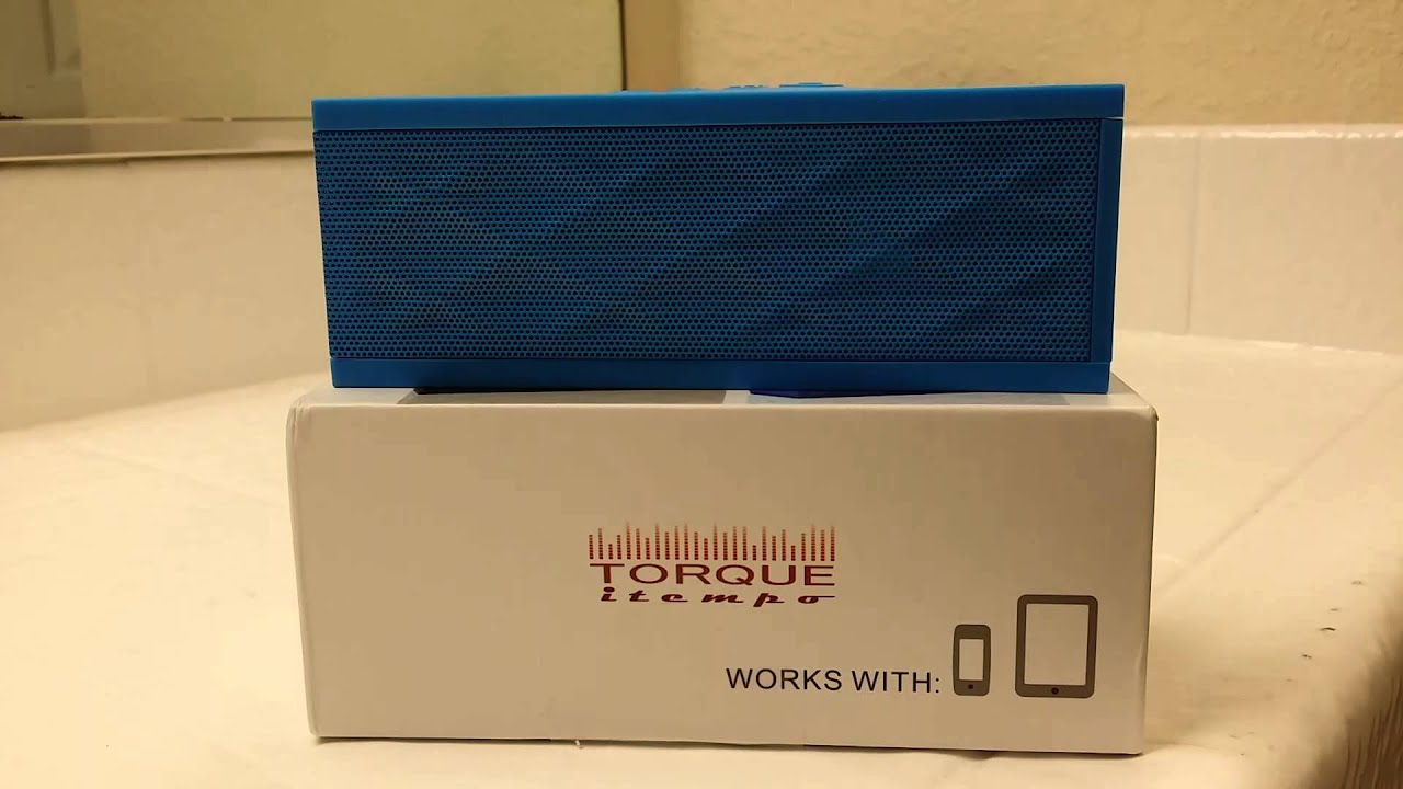 [Knockoff JamBox Speaker Has A Noticeable Accent] Video