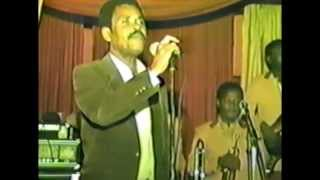 Roger Colas performing Live Ny 1985 - Haiti - Septentrional