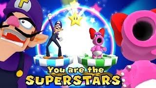 Mario Party 9 Blooper Beach ◆Waluigi vs Magikoopa vs Birdo vs Toad (Master Difficulty Tie) #4