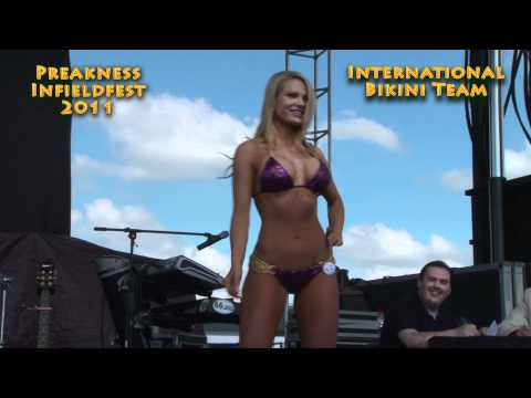 Bikini Contest at Preakness 2011