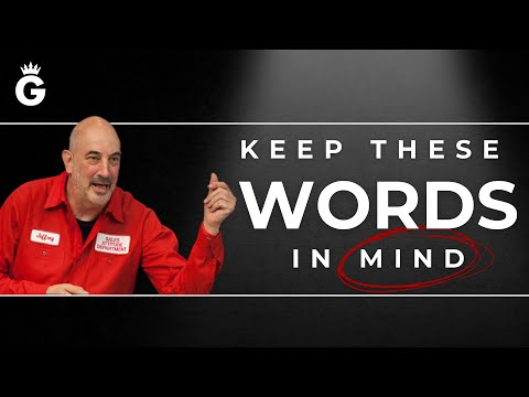 The Two Most Important Words In Sales