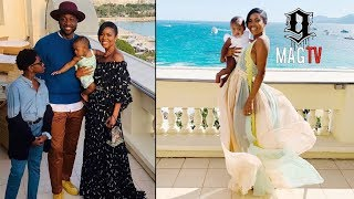 Dwyane Wade & Gabrielle Union Travel To France With The Kids!