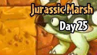 Plants vs Zombies 2 - Jurassic Marsh Day 25: Ankylosaurus