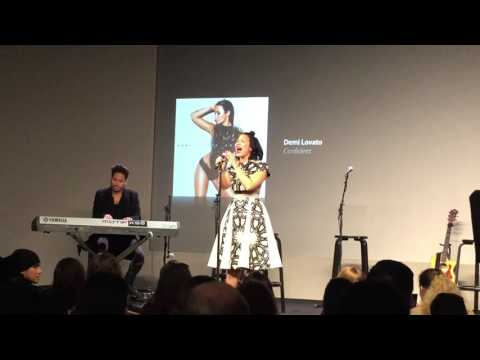 Stone Cold (Live from Apple Store) - Demi Lovato - October 28, 2015