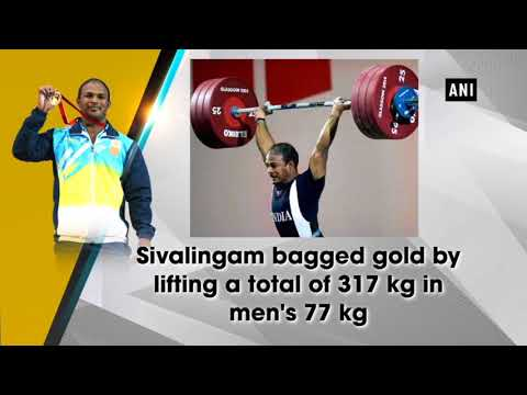 President Kovind Praise Weightlifter Sivalingam For Clinching India's Third Gold-medal