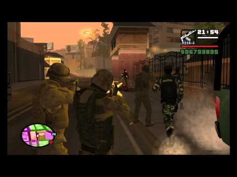 GTA: SA Ejercito Mexicano Operativo 2 HD