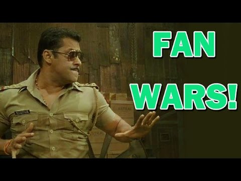 Salman Khan hates 'Fan Wars'!!  | Bollywood News