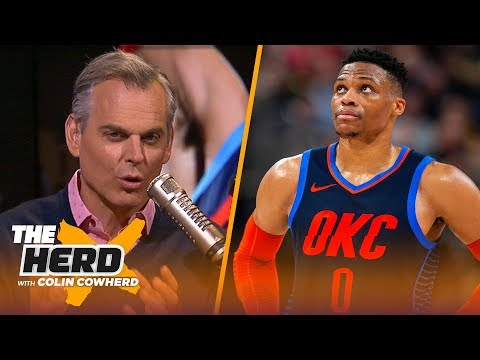 Download Lagu  Colin Cowherd says OKC are falling apart, doesn't see why Doc would leave Clippers | NBA | THE HERD Mp3 Free