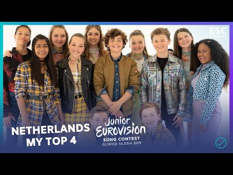 Junior Eurovision 2019 : The Netherlands - TOP 4