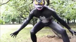 Cosplay Venom Zentai Suit 02