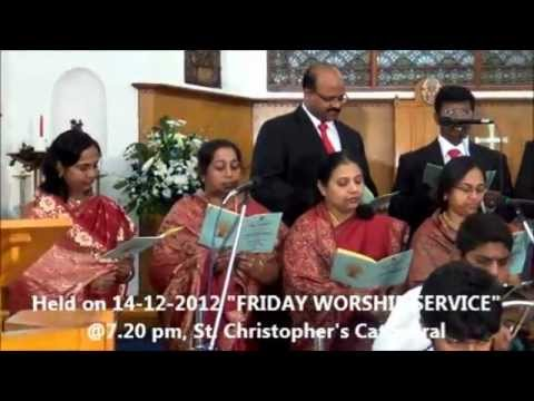 Song#2 Ttc Bahrain; Tamil Christmas Song 2012 - Thaaveethin Carol By Church Choir video