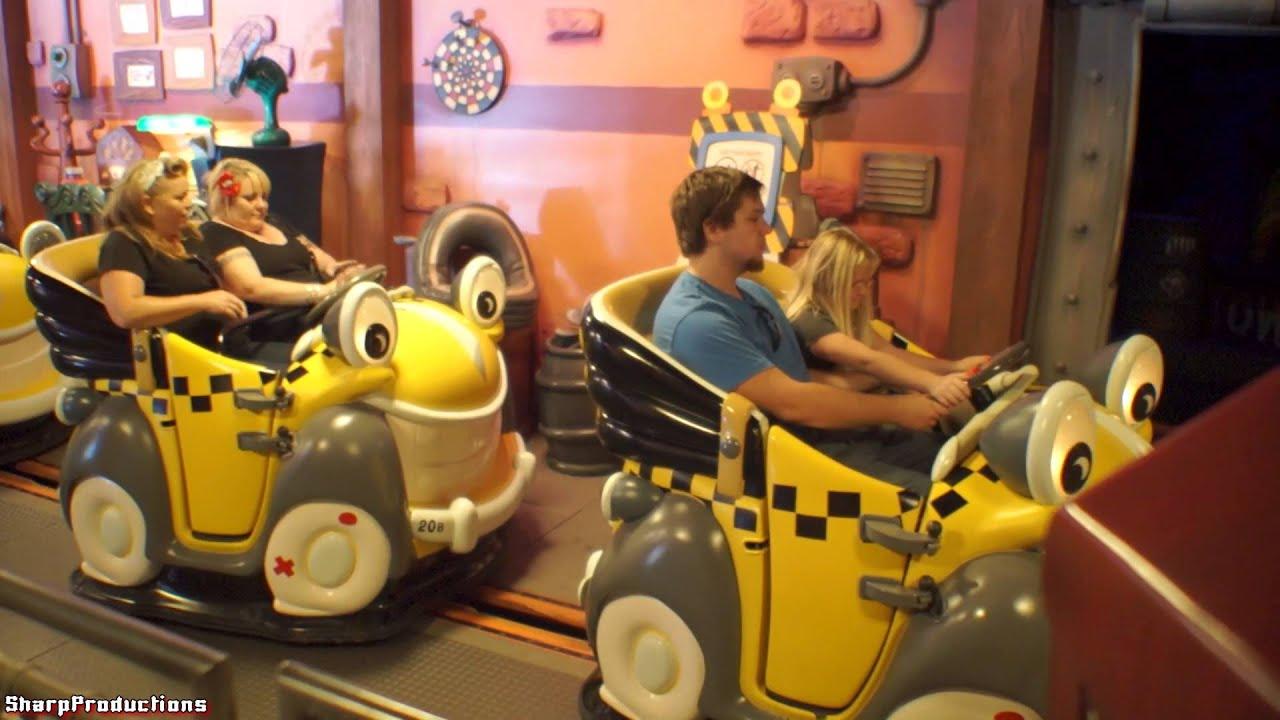 Roger Rabbit S Car Toon Spin On Ride Disneyland Youtube