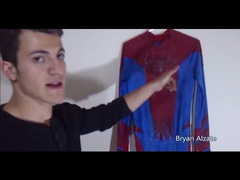 Como hacer el traje de the amazing spiderman