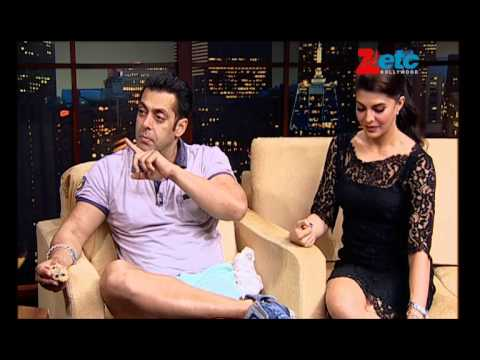 Salman Khan & Jacqueline Fernandez - ETC Bollywood Business - Komal Nahta Music Videos