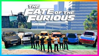 GTA ONLINE THE FATE OF THE FURIOUS SPECIAL - FAST & FURIOUS 8 VEHICLES, NEW GTA 5 SUPER CARS + MORE!