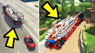 GTA 5 - How to Return Michael's Yacht! (Alternate Ending)