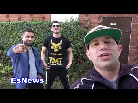TMT MMA Star Muradov Warns Tyron Woodley I'm No Wonderboy Thompson EsNews Boxing