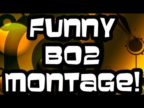 FUNNY BLACK OPS 2 MOMENTS MONTAGE - COD BO2 - 