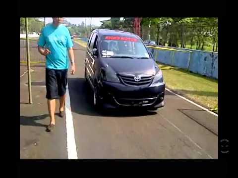 Drag Race Sentul Avanza 1.3 Ricks Motor