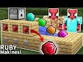 Fakir Örümcek Adam'ın Ruby Makinesi - Minecraft Zengin vs Fakir Örümcek Adam