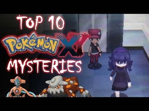 Top 10 Pokémon X & Y Mysteries