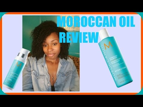 MOROCCAN OIL REVIEW ON NATURAL HAIR
