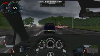 City Car Driving 2.2.7 Mercedes C63 AMG Driving