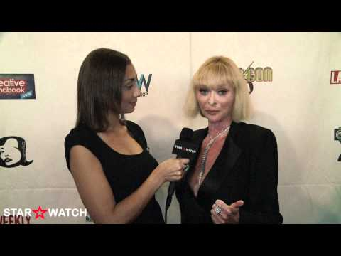 Sybil Danning red carpet interview at 2012 ITV FEST Awards