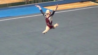 Whitney - Level 5 Floor Routine 2014