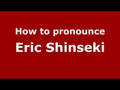 How to pronounce Eric Shinseki (American English/US) - PronounceNames.com