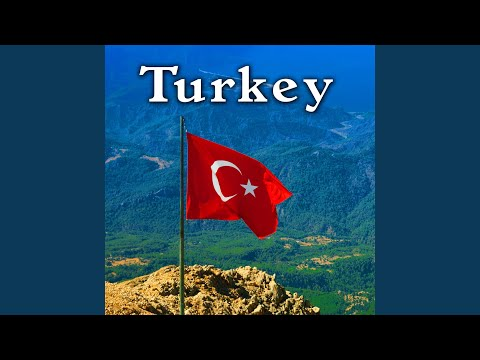 Turkey, Taxi Ride with Car Horns, Traffic & Music on the Radio