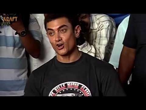 Aamir Khan Singing Papa kehte Hain Bada Naam Karega