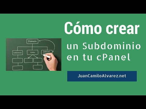 Cómo Crear un Subdominio Desde el cPanel
