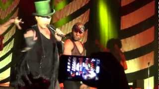 Adam Lambert - Fever, Dragon Attack, Shady, Band Intro 16/03/2013 Moscow