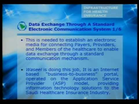 Infrastructure of cooperative Health Insurance in Saudi Arabia -Mr. Saleh N. Alomair - Day1 -4