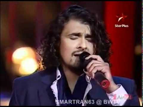 sonu  &  rahat singing tujhe dekh dekh sona.mp4