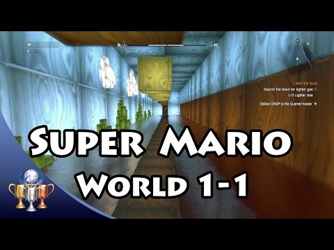 Dying Light - Super Mario World 1-1 Easter Egg - Pyza Suit Blueprint (Tanooki suit)