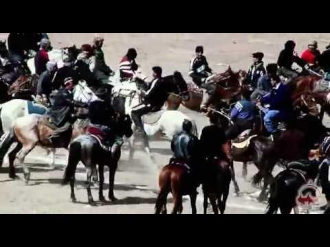 Копкары (козлодрание). Обычаи Средней Азии.